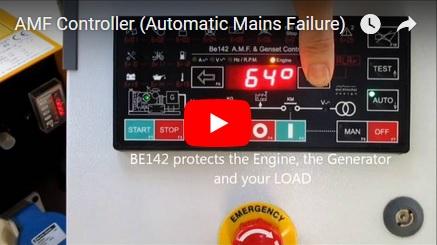 GSM BASED AUTOMATIC MAINS FAILURE PANEL