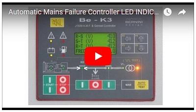 Steuerung und Schutz von Generatoren BeK3