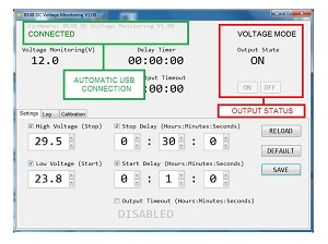 VOLTAGE MONITORING RELAY OVERVIEW