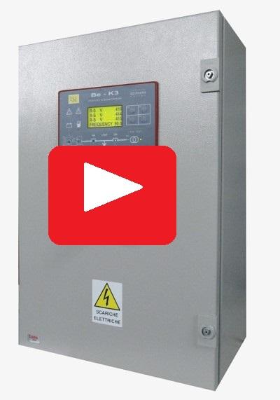 BEK3 generator control panel