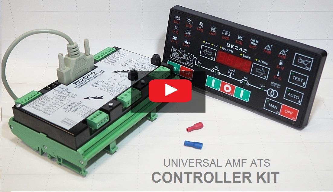 UNIVERSAL AMF ATS CONTROLLER KIT