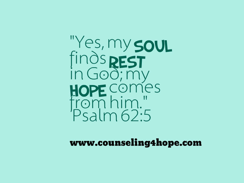 rest and hope in God