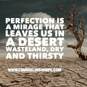 Perfection leaves us dry