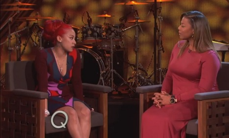 Keyshia Cole Takes Her Reality To TV  The Queen Latifah Show
