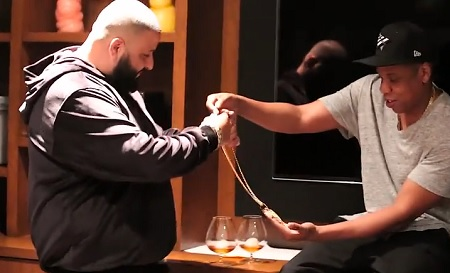 Congrats Jay Z is Dj Khaled's New Manager