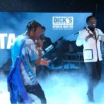 """Gucci Mane & Travis Scott Performs """"Last Time"""" on The Late Night Show."""