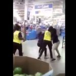 Fight Breaks Out At Buffalo Walmart Between Workers.