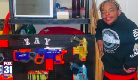 Colorado Student suspended for waiving toy gun during virtual class.