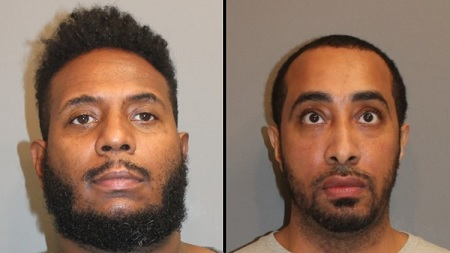 2 Men arrested for trying to ship karaoke machine filled with marijuana.
