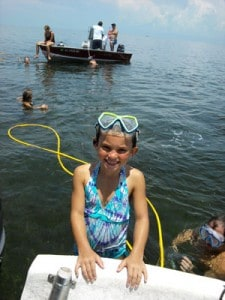 Crystal River scalloping with Captain Greg Hume