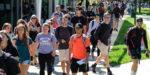 Total Slippery Rock Enrollment Down; Graduate Students Up