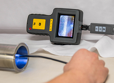 Image a welding machine and a calibration tool.