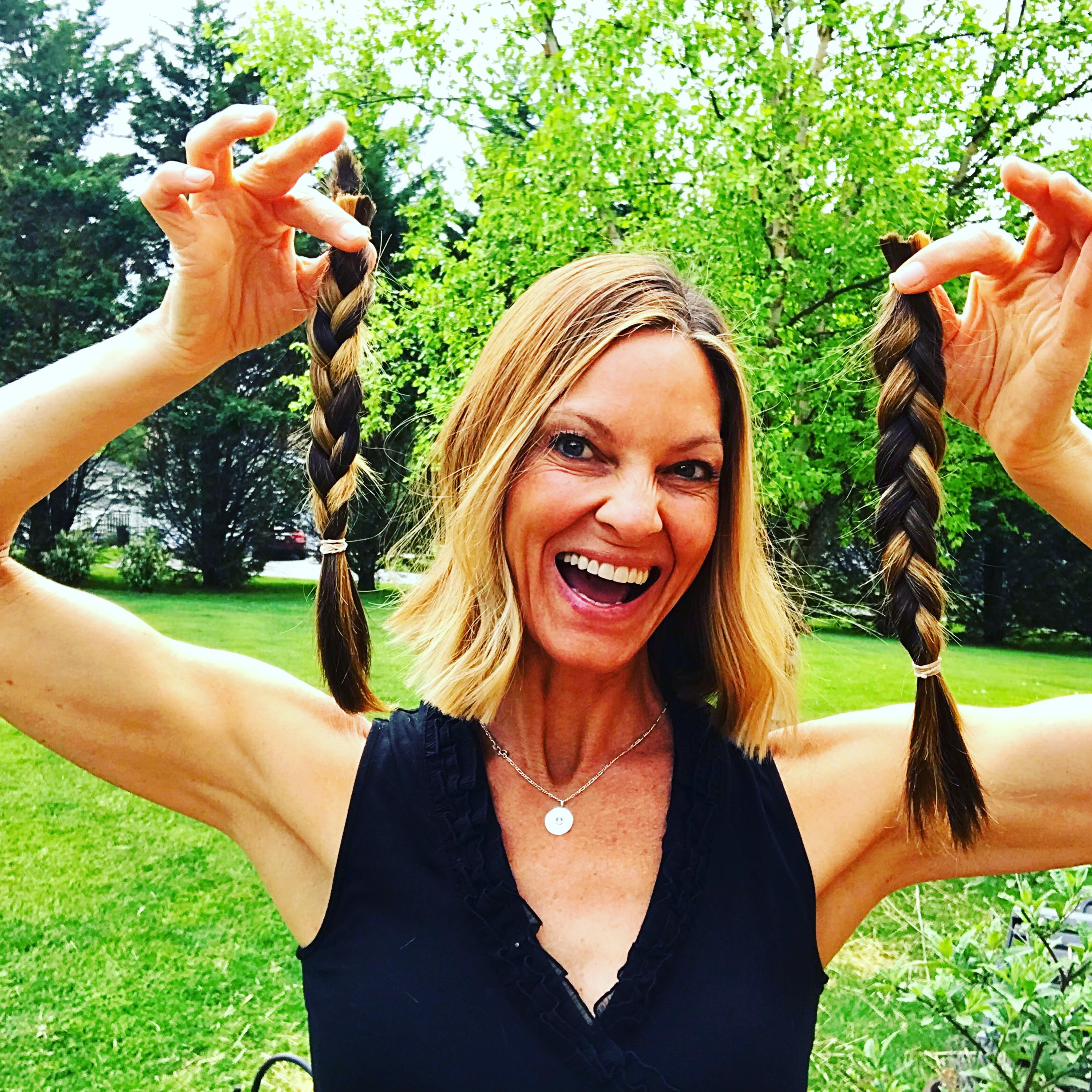 How I grew long, superfood hair in my 50's & Why I'm chopping it all off … AGAIN :)