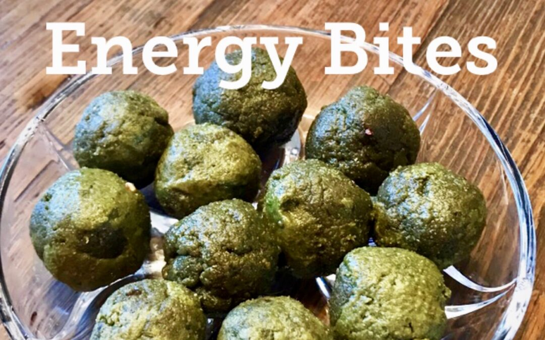 Matcha Green Energy Bites