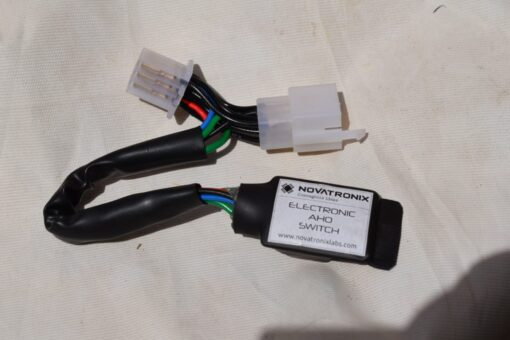 Electronic AHO switch