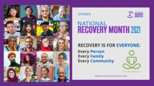 Morning Glory Yoga - September is - National Recovery Month - Trini Foundation