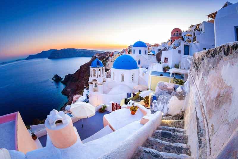 Greece-sunset