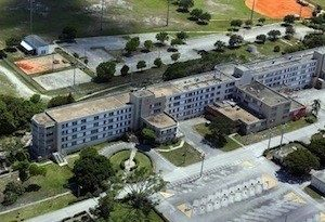 A. G. Holley State hospital where patients with totally drug resistant TB were treated