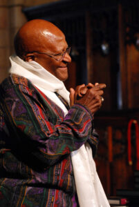 Archbishop Desmond Tutu received TB treatment as a child