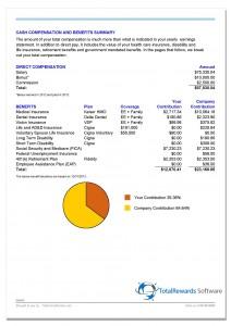 TotalRewards Cash Compensation Benefits example