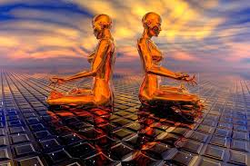 """We are a living portion of a vast """"conscious grid"""" of perception."""