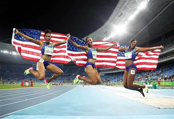 #Blackgirlmagic: African-American Women Take Spotlight at Rio Olympics – NBC News