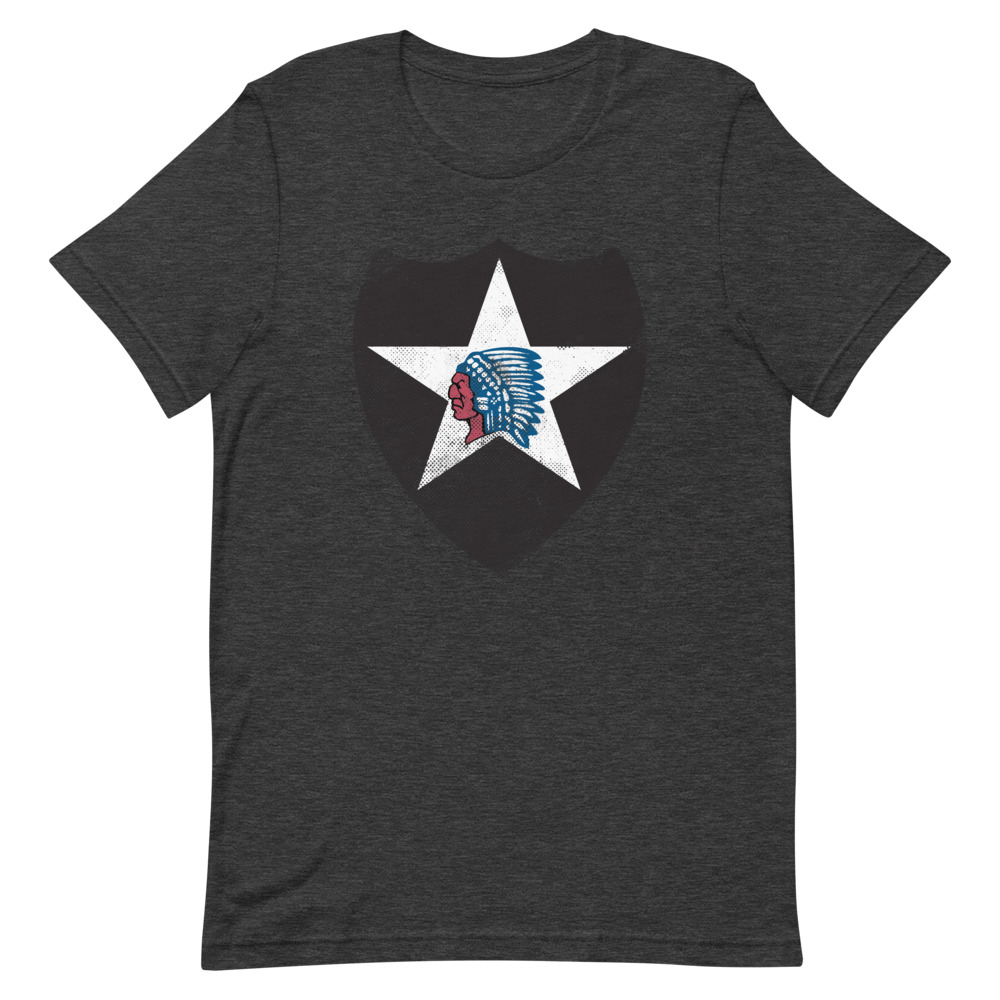 2nd-infantry-division-heather-shirt