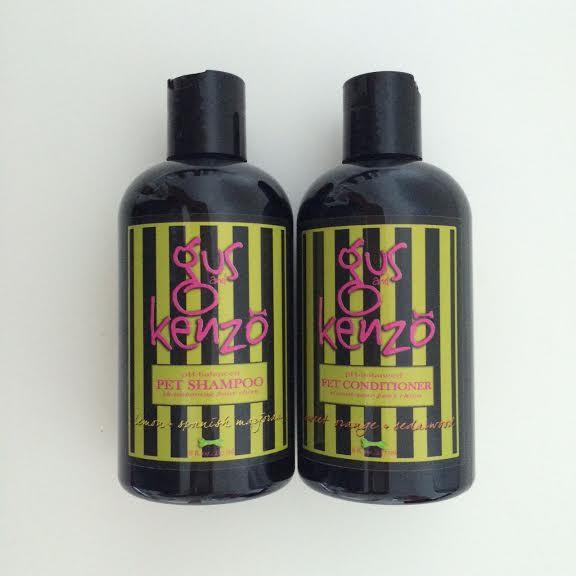 gus and kenzo pet shampoo conditioner review inhautepursuit