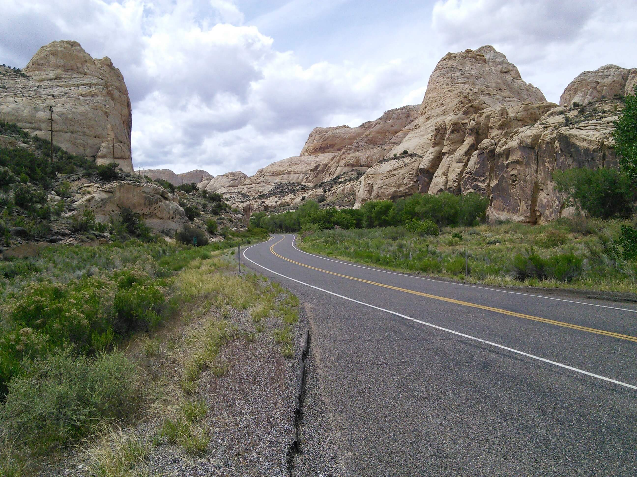 HWY 24 on the way to Goblin Valley SP, Utah