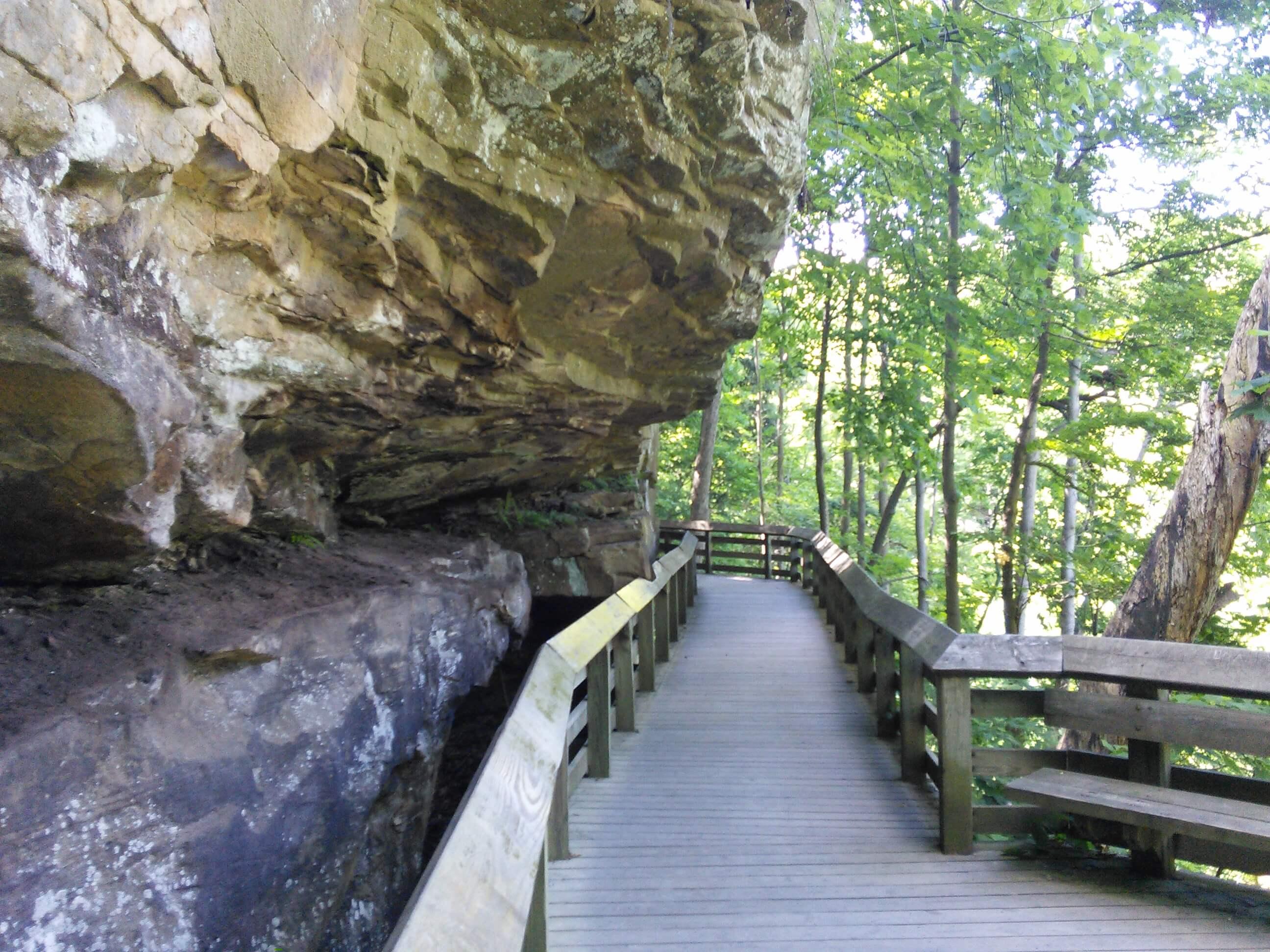 Walkway to Brandywine Falls