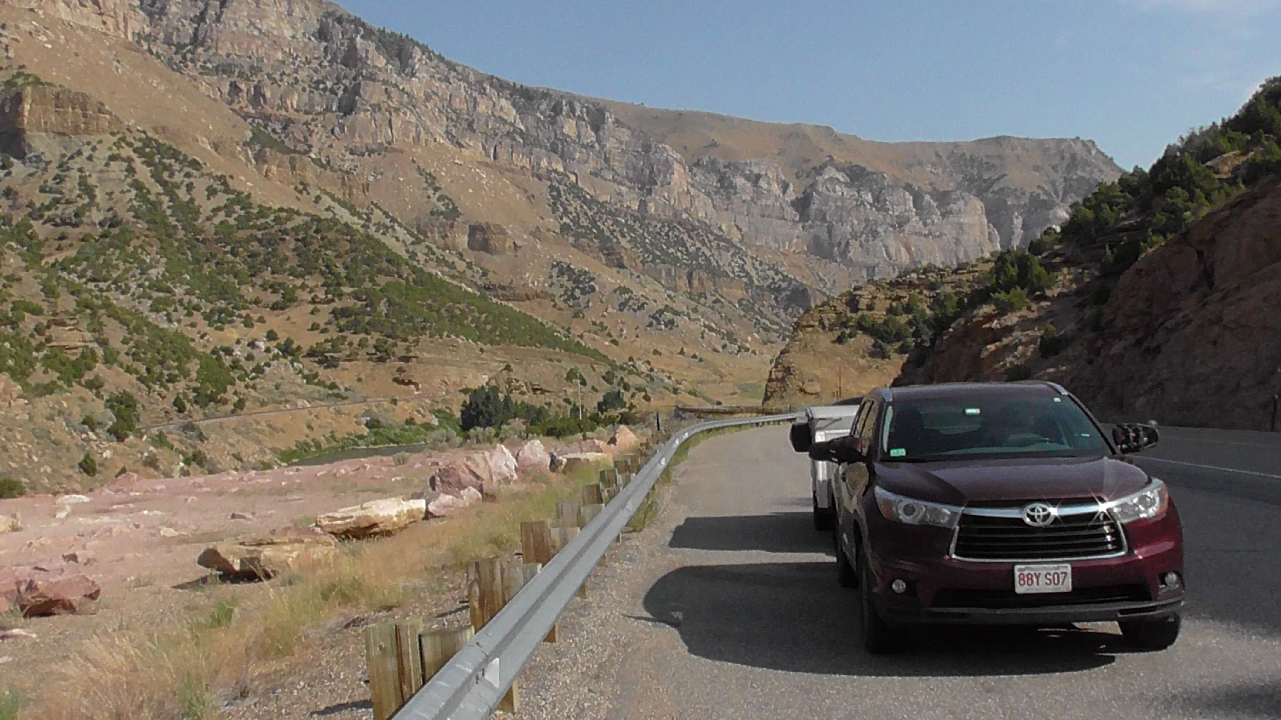 Wind River Canyon, Wyoming