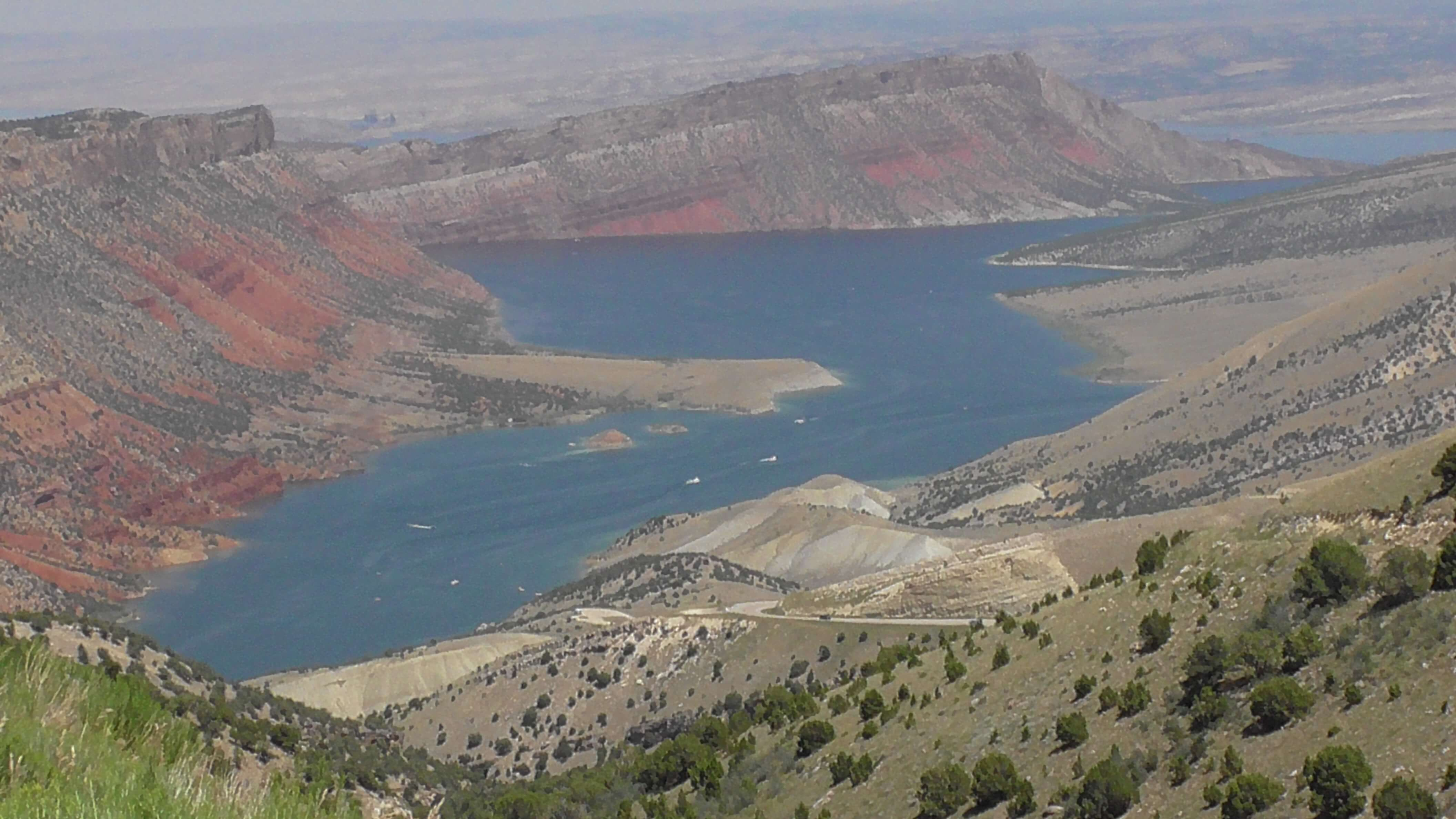 Flaming Gorge in Flaming Gorge National Recreation Area