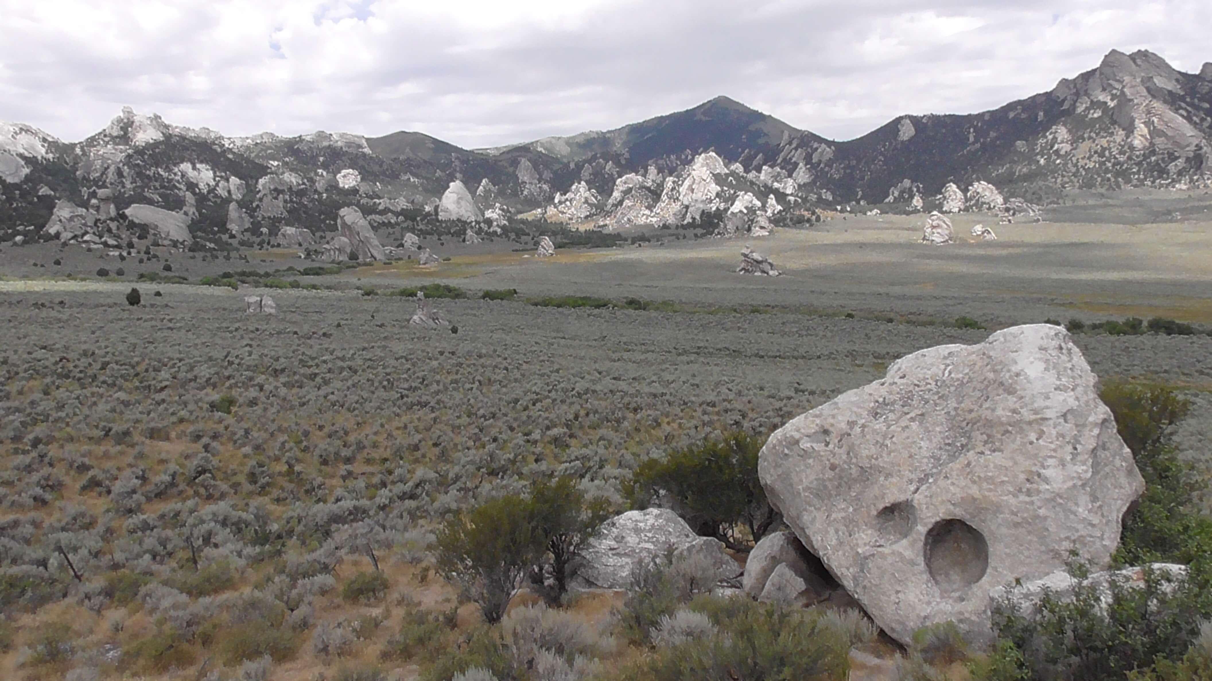 Taffoni, City of Rocks National Reserve, Idaho