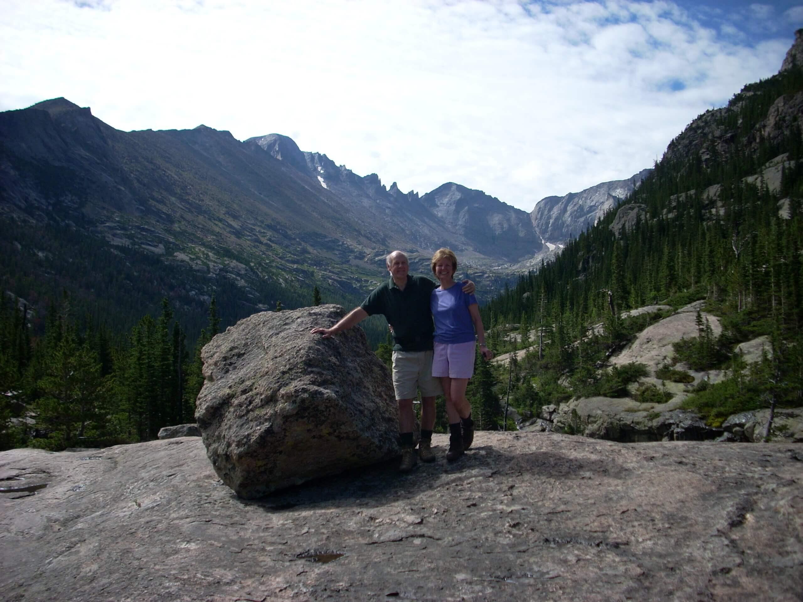 Glacier Gorge Trail, Rocky Mtn NP