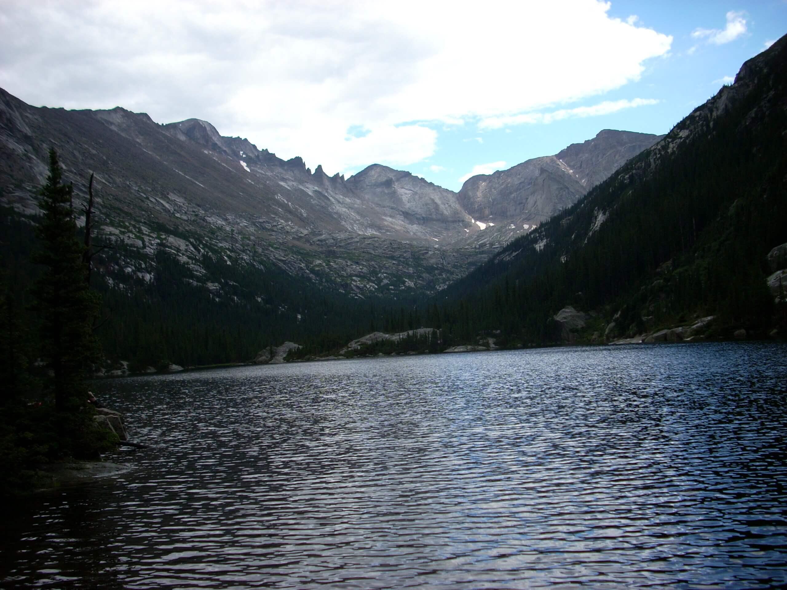 Mills Lake, Rocky Mtn NP