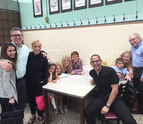 Jon Dwoskin with his family