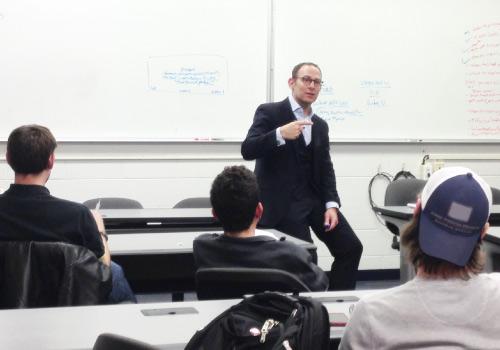 Jon Dwoskin speaking-to-university