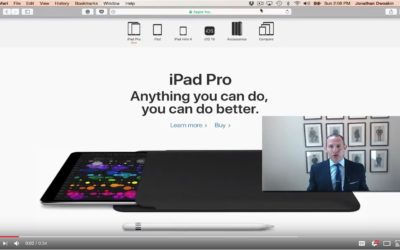 Jon's Business Tip of the Day: Boost Efficiency with the iPad Pro and Pencil