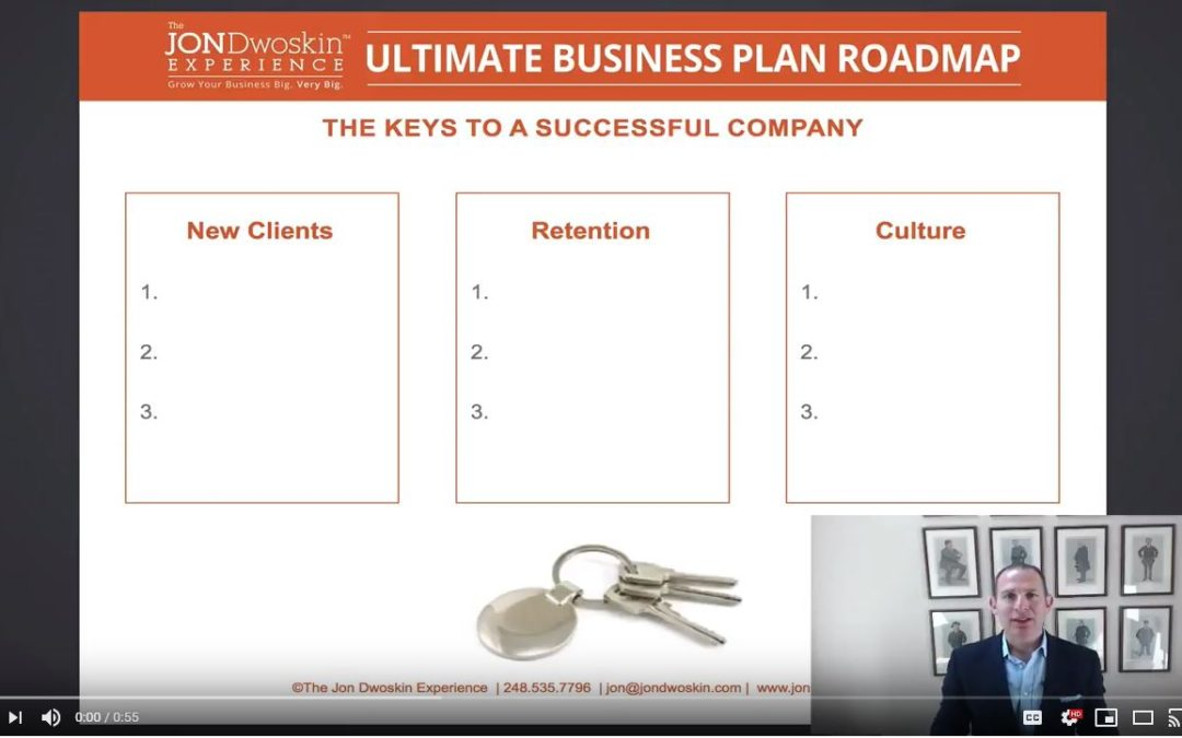 Jon's Business Tip of the Day: 3 Questions to Grow Your Business Big