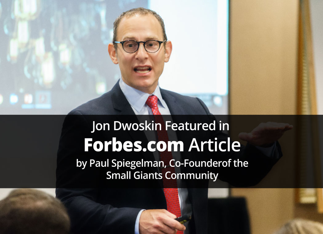 Jon Dwoskin Featured in Forbes.com Article