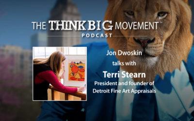Jon Dwoskin Interviews Terri Stearn, President and Founder of Detroit Fine Art Appraisals