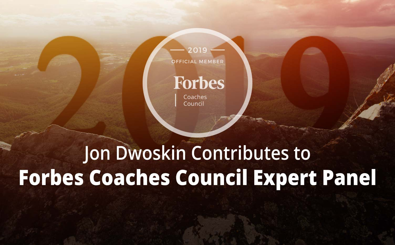 Jon Contributes to Forbes Coaches Council Expert Panel: 12 Tips To Help Your Staff Shake Off The 'New Year Blues'