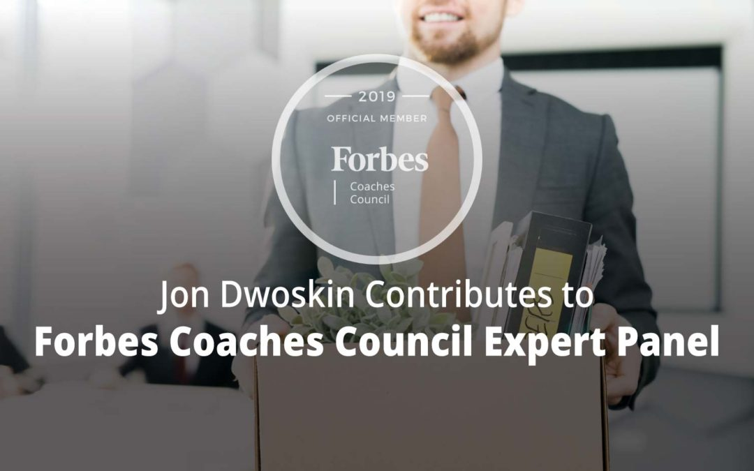 Jon Contributes to Forbes Coaches Council Expert Panel: 13 Signs You Might Be The Reason Your Employees Are Quitting