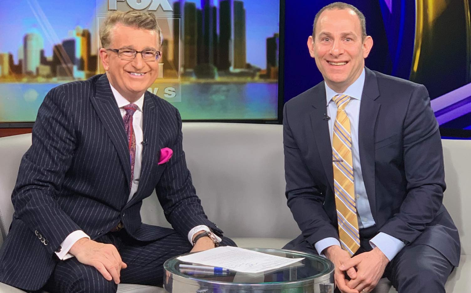 Jon Talks with Fox 2 News Anchor Charlie Langton: How to Get a Job After College