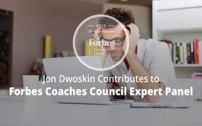 Jon Contributes to Forbes Coaches Council Expert Panel: Are You On The Verge Of Burning Out At Work? 11 Red Flags To Watch For