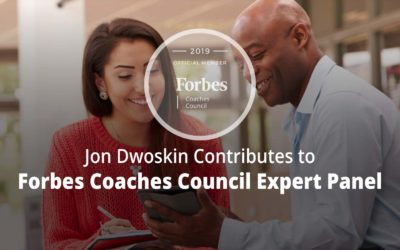 Jon Contributes to Forbes Coaches Council Expert Panel: 12 Ways To Show Up And Prove Yourself As A Young Entrepreneur