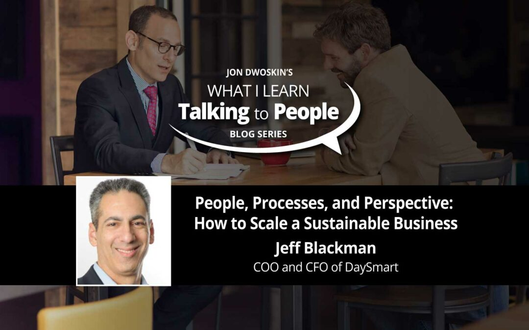 People, Processes, and Perspective: How to Scale a Sustainable Business