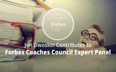 Jon Contributes to Forbes Coaches Council Expert Panel: Is Your Business Overwhelmed By Heavy Workloads? Here Are 10 Signs To Look For