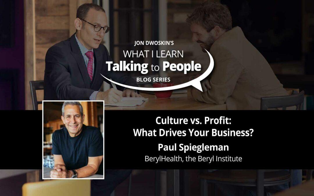 Culture vs. Profit: What Drives Your Business?