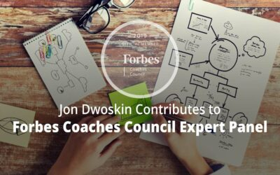 Jon Contributes to Forbes Coaches Council Expert Panel: 15 Common Pitfalls To Avoid As A New Business Owner Or Entrepreneur